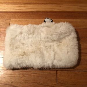 Club Monaco fur scarf